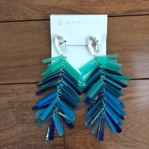 NWT Kendra Scott Justyne Earrings
